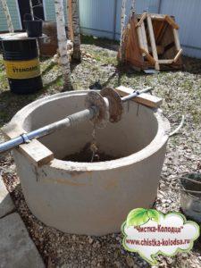 ремонт питьевого колодца